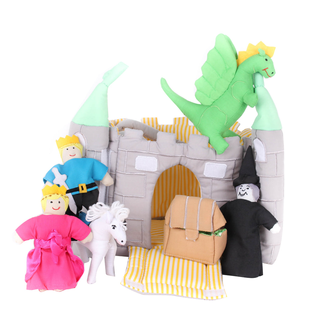 Castle Bag Soft Toy