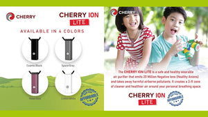 Cherry Ion Lite Personal Wearable Air Purifier