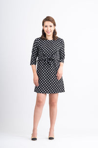 Mome - Chloe Mini Dress Polka Black