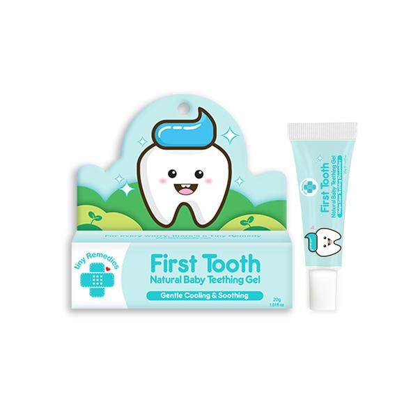Tiny Remedies First Tooth Natural Baby Teething Gel (20g)