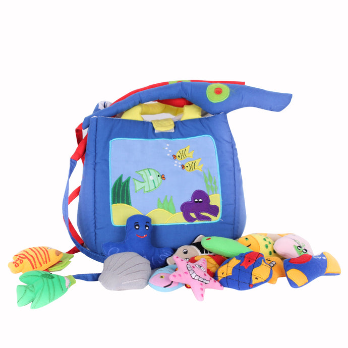 Fishing Bag Soft Toy