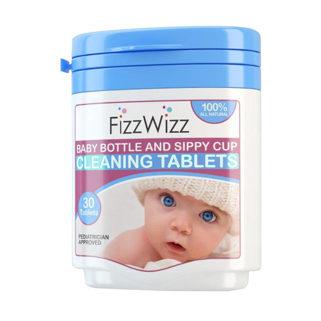 Fizz Wizz All Natural Cleaning Tablets - 30 pcs