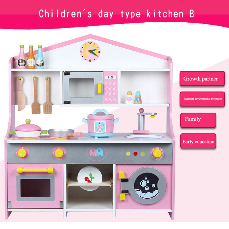 Wooden Toys Japanese Type Kitchen B