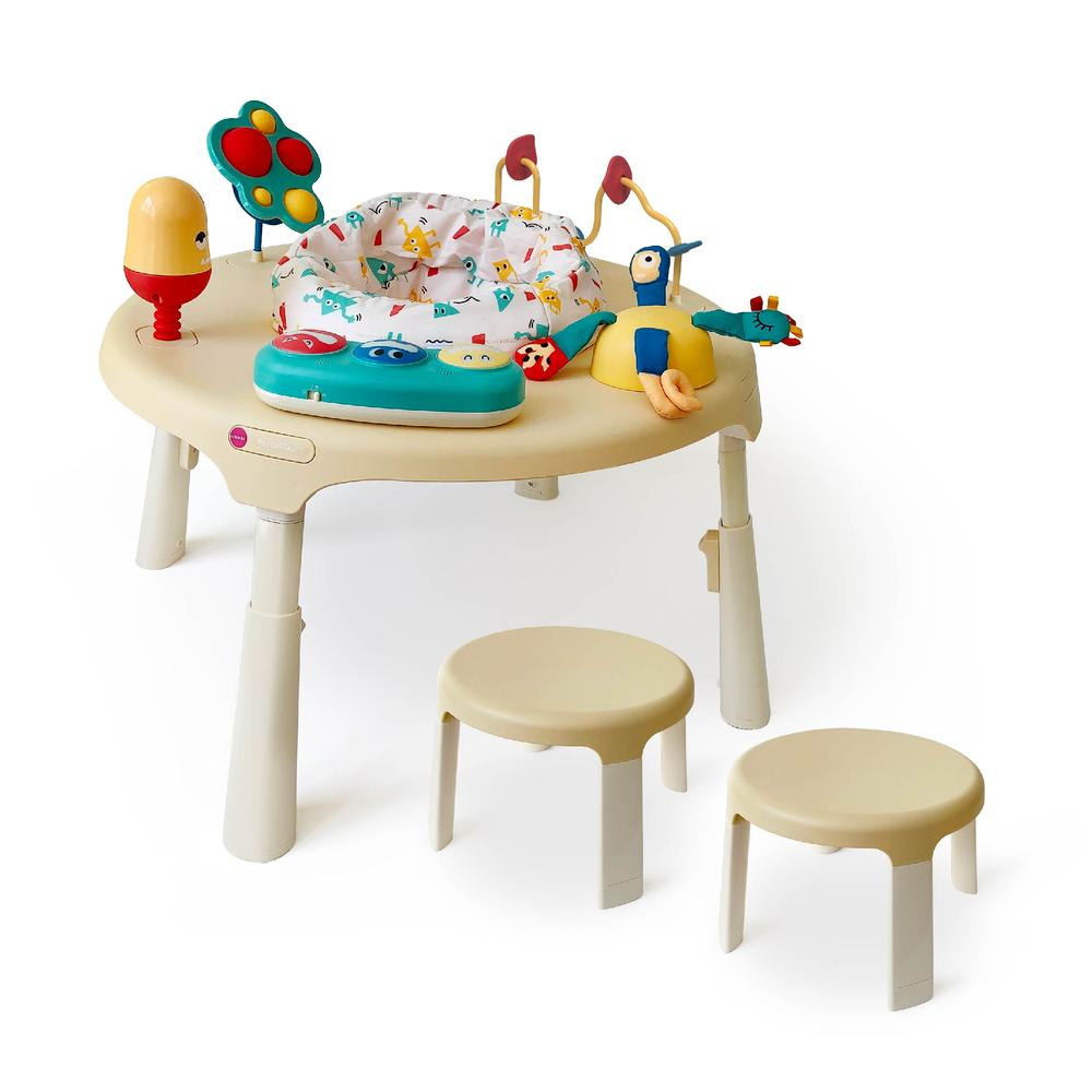 Oribel PortaPlay Stage-Based Activity Center - Monsterland Adventures + Stools Combo