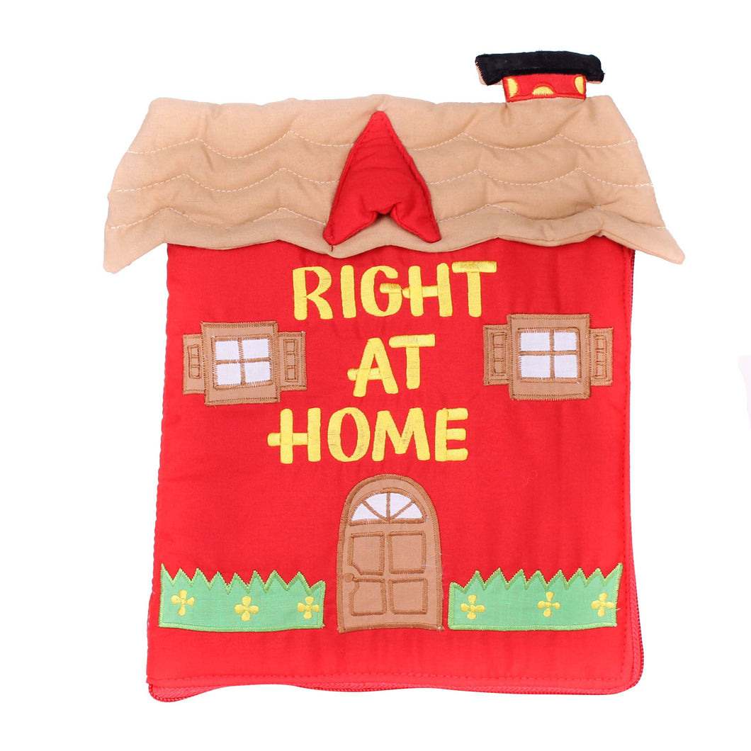 Right At Home Cloth Book