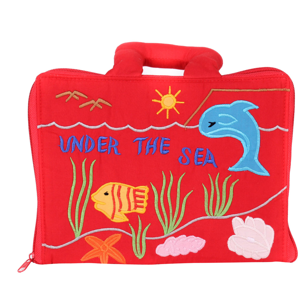 Under The Sea Counting Book 1.0 Cloth Book