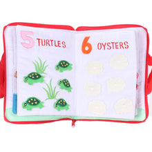 Load image into Gallery viewer, Under The Sea Counting Book 1.0 Cloth Book