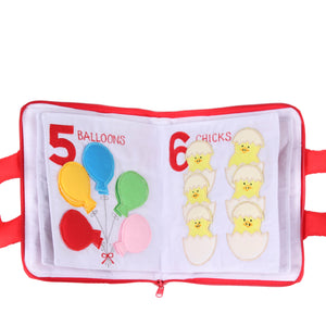 123 Counting Cloth Book 1.0 Cloth Book