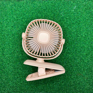 Diandi Rechargeable Round Clip on Fan