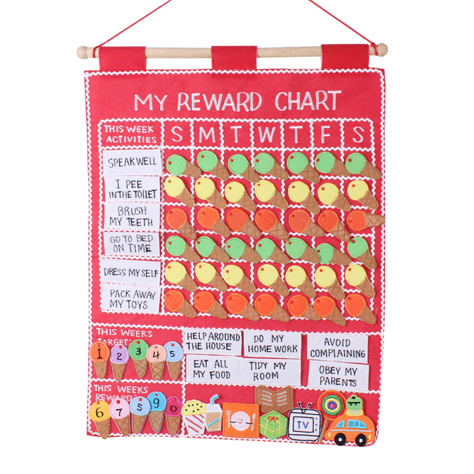 Reward Chart - Ice Cream