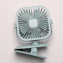Load image into Gallery viewer, Rechargeable Clip on Fan