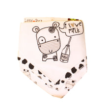 Load image into Gallery viewer, Little Duck 3 pcs. Bandana Bibs
