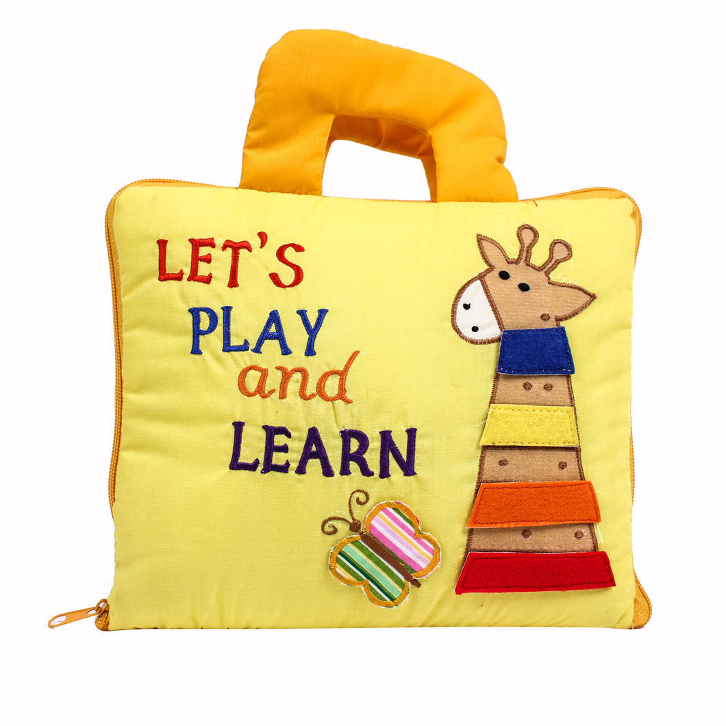 Let's Play and Learn Cloth Book