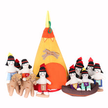 Load image into Gallery viewer, Indian Teepee Counting Soft Toy