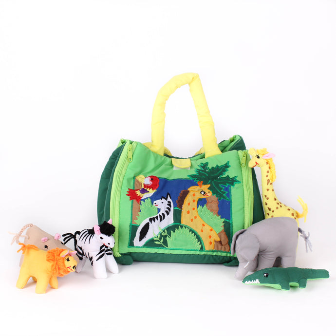 Jungle Bag Soft Toys