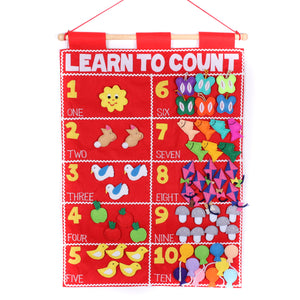Learn To Count Number Chart