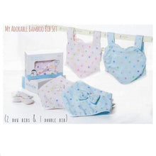 Load image into Gallery viewer, Iflin My Adorable Bamboo Bib Set