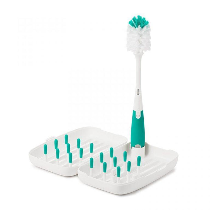 OXO Tot On-the-Go Drying Rack & Bottle Brush