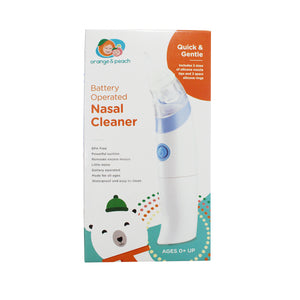 Orange & Peach Battery Operated Nasal Cleaner