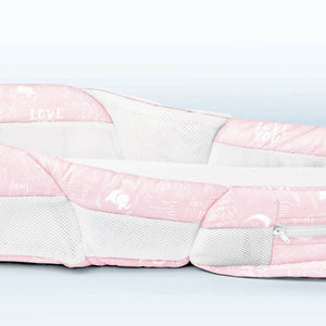 Snuggle Nest - Harmony Portable Infant Sleeper – Pink Baby Love