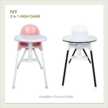 Lily and Tucker Ivy 2 in 1 Mini High Chair