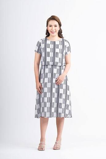 Mome - Tara Dress Pattern Print Design