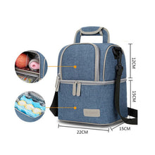 Load image into Gallery viewer, V-Coool Cooler Bag Deluxe Love House - Blue