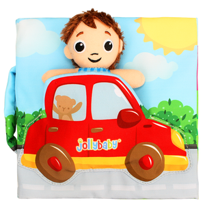 Jolly Baby Book - Little Driver