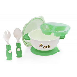 ZoLi STUCK Suction Feeding Bowl Kit