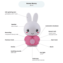 Load image into Gallery viewer, Alilo Original Honey Bunny