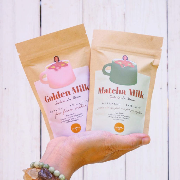 Bundle Deal Golden Milk and Matcha Milk