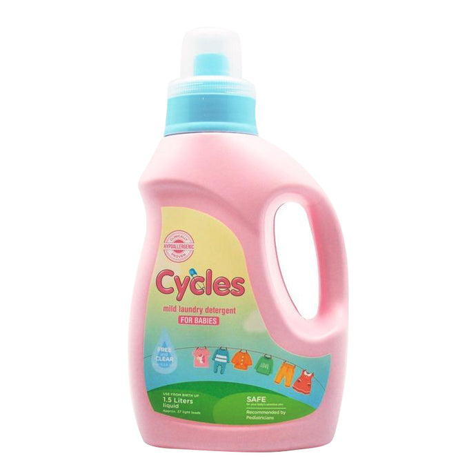 Cycles Mild Liquid Laundry Detergent