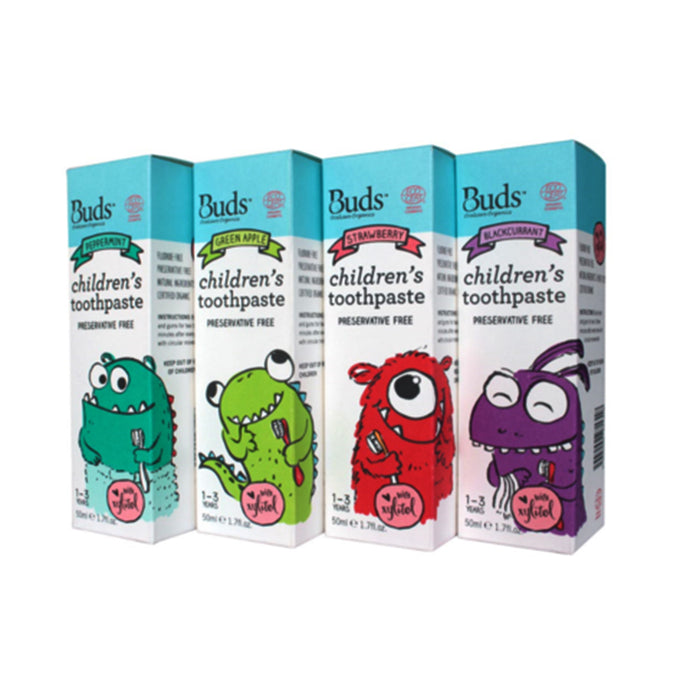 Buds Children's Toothpaste With Xylitol (1-3 years old)