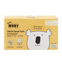 Load image into Gallery viewer, Baby Moby Sterile Gauze Pads