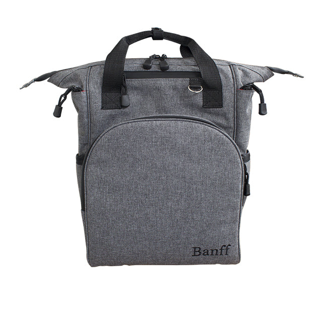 Banff Baby Bag - Gray