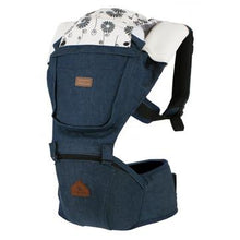 Load image into Gallery viewer, I-Angel Hipseat Carrier - Denim