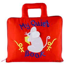 Load image into Gallery viewer, My Quiet Book Mouse Cloth Book
