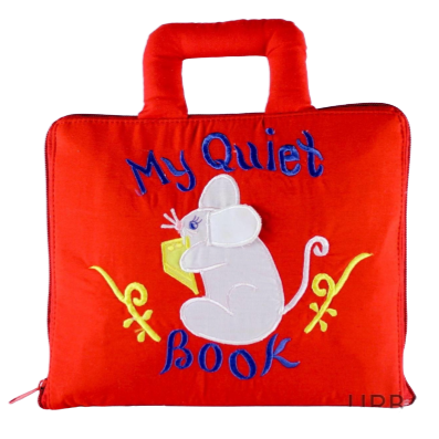 My Quiet Book Mouse Cloth Book