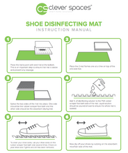 Load image into Gallery viewer, Clever Spaces Shoe Disinfecting Mat