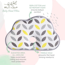 Load image into Gallery viewer, Olive & Cloud Baby Head Pillow