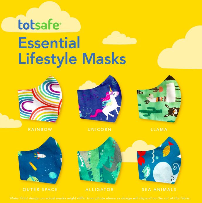 Totsafe Essential Lifestyle Mask (with 3 pcs. PM 2.5 filters)