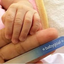 BABY GOAL Glass Nail File (with hardcase)