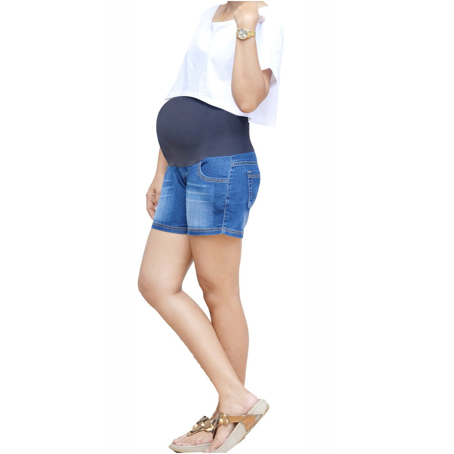 Iammom - Maternity Shorts Denim