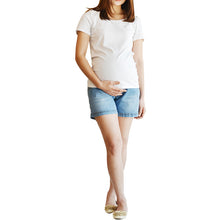 Load image into Gallery viewer, Iammom - Maternity Shorts Denim
