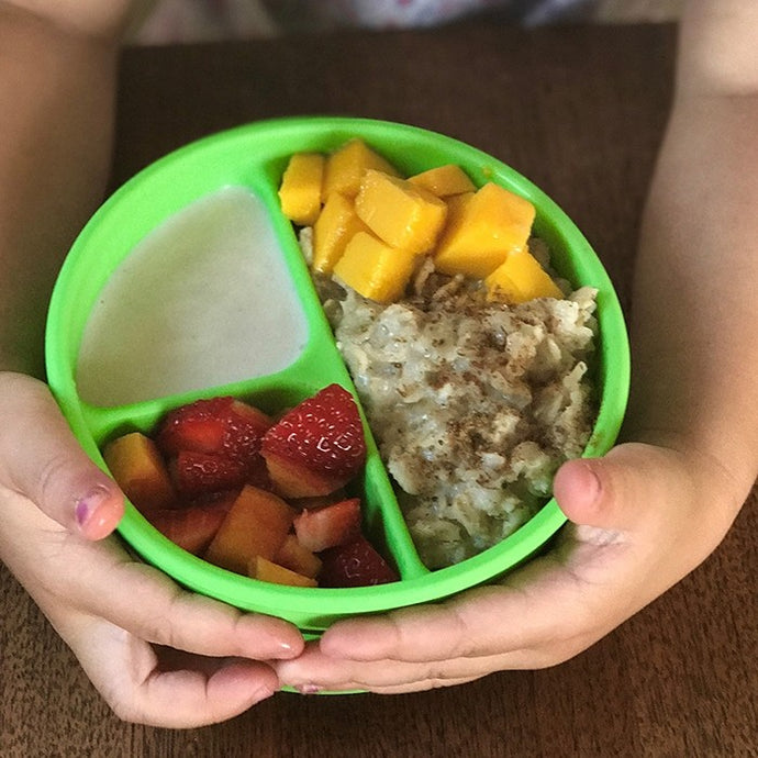 Green Sprouts Silicone Feeding Bowl