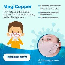 Load image into Gallery viewer, Magicopper Plus+ Face Mask