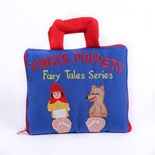 Load image into Gallery viewer, Finger Puppets Fairy Tale Series Cloth Book