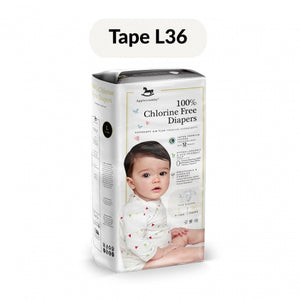 Applecrumby Chlorine Free Baby Tape Diaper