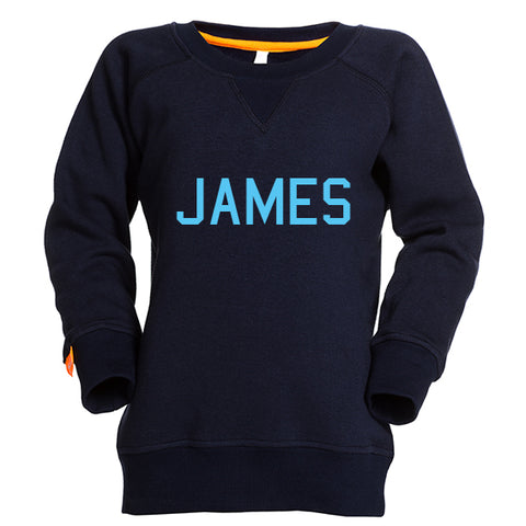 sweater kids naam navy