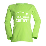 t-shirt see you on court